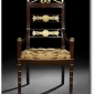 pair-of-russian-neoclassic-mahagony-gilt-chairs-c-1820-estate-art-for-less-ebay