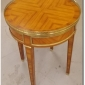 set-of-two-2-fabulous-antique-wood-and-metal-round-end-tables-french-italian