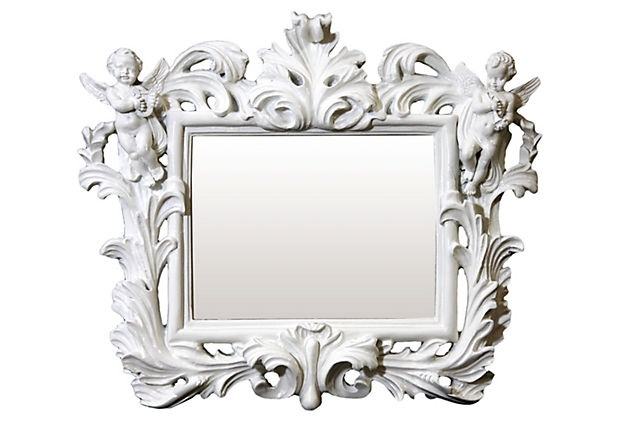 Baroque french style for Plastic baroque mirror
