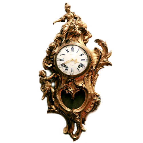 Baroque Cartel Clock 500x500 Baroque French Style