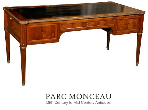 19thc French Louis Xvi Style Desk French Styled Louis Desks