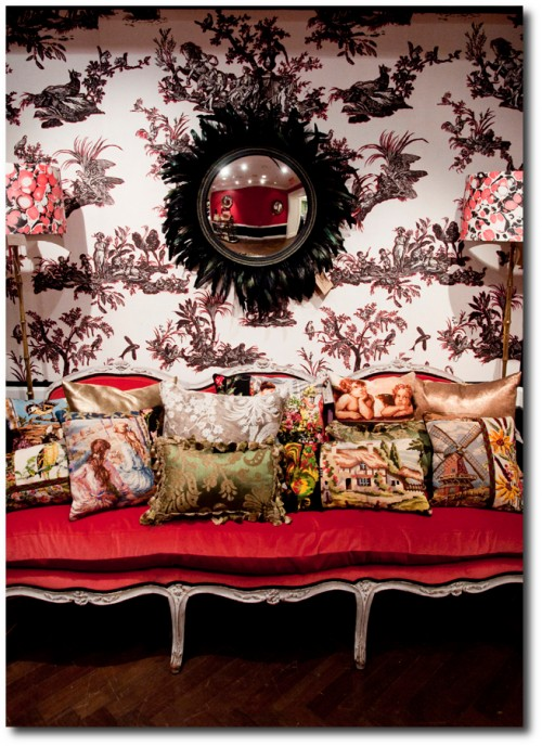 Alessandra Branca at Bergdorf4 500x688 Decorating Around The French Styles  Designer Alessandra Branca