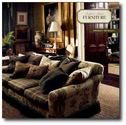Bedford Manor Collection 2008 4 The Romantic Side Of Ralph Lauren Home