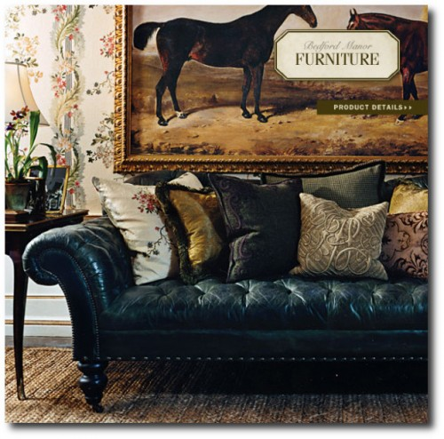 Bedford Manor Collection 2008. 500x494 The Romantic Side Of Ralph Lauren Home
