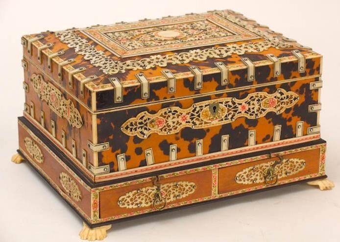Tortoise Shell Box