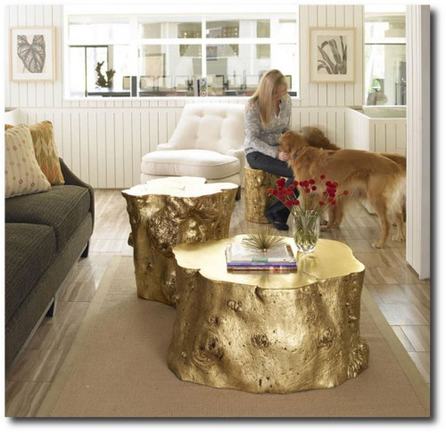 Gold Leaf Log Tables 500x486 Easy Gold Leafing