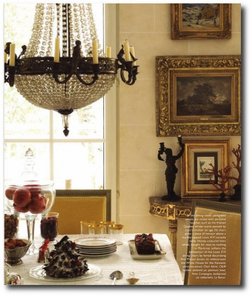 French Style Decorating and Antiques 15 500x588 French Styled Homes