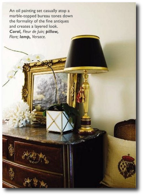 French Style Decorating and Antiques 6 French Styled Homes