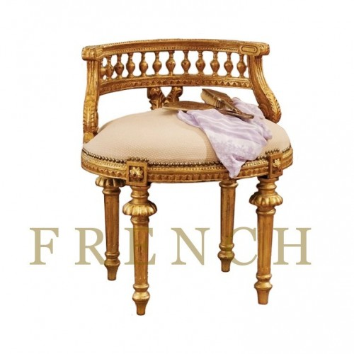 Mademoiselle Cezannes French Slipper Chair2 500x500 Easy Gold Leafing