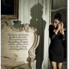 French Baroque Rococo Bed Victoria Beckham Harpers Bazaar December 2009