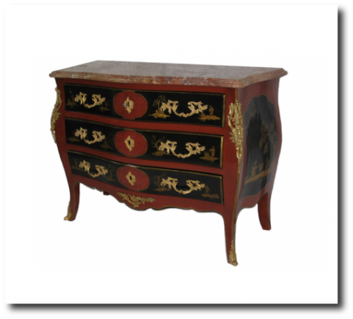 A Louis XVI style chest From Charles Emile Moinat 500x3341 500x452 French Styled Commodes