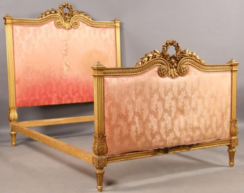 BEST FRENCH CARVED GILDED DAYBED FULL SIZE BED EVER Ebay Seller CheBella99
