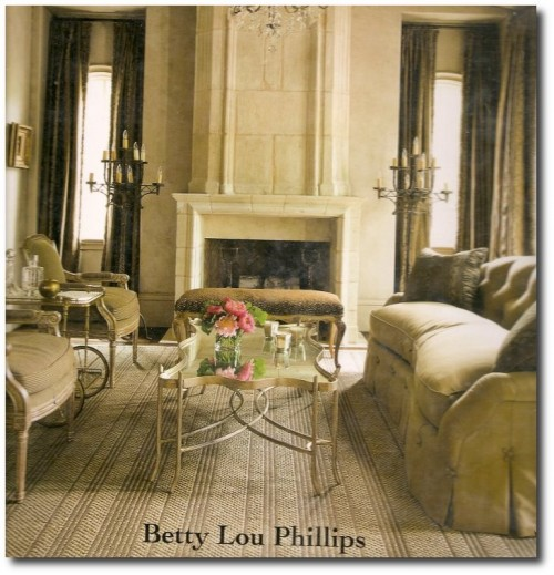 Betty Lou Phillips 500x519 White and Cream French Furniture