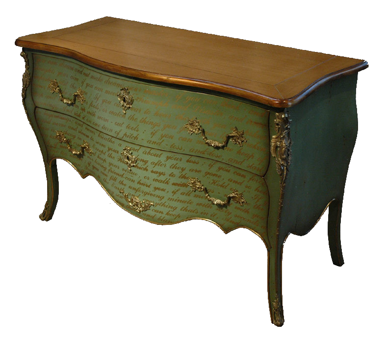 French script chest of drawers commode bombay gorgeous