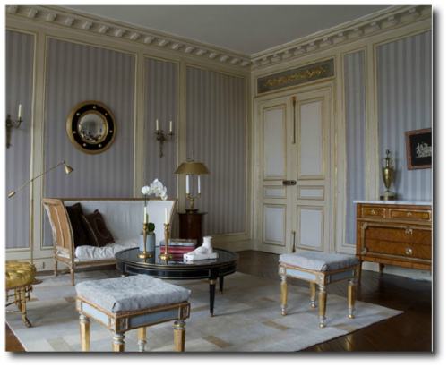 Jean Louis Deniot Paris Apartment Quai Voltaire 500x410 Decorating With Pastels For A French Styled Home