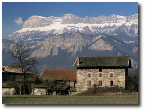 Landscape Near Chambery Savoie Rhone Alpes France From All Posters 500x381 Touring The Best Of France