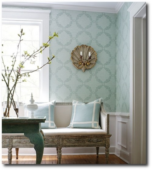 Thibaut 500x560 Decorating With Pastels For A French Styled Home