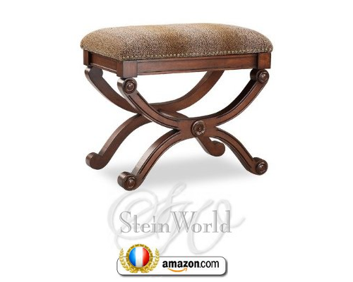 Curved Accent Stool Stein World 80967 French Style Directoire Tables