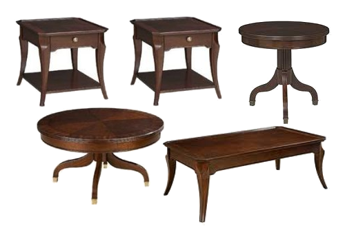 Ferron Court Sets French Style Directoire Tables
