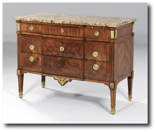 French chest of drawers From Dorotheum Auctions Neoclassical French Furniture