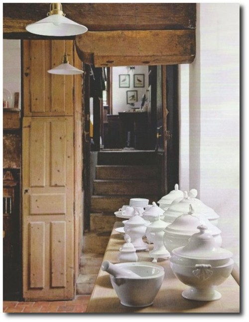 Charles Spada's Country Home in Normandy Photography By Andreas von Einsiedel 500x648 Really Hot French Decorating Advice From Top Designer Charles Spada