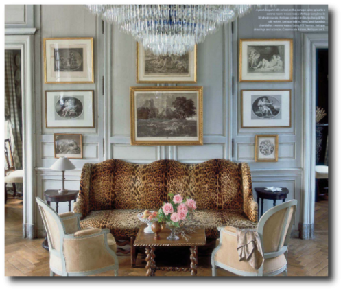 Charles Spada's Normandy Home Picture Credit My French Country Home Blog 500x4201 500x424 Really Hot French Decorating Advice From Top Designer Charles Spada