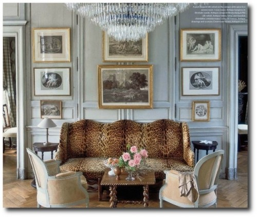 Charles Spada19 500x423 Really Hot French Decorating Advice From Top Designer Charles Spada