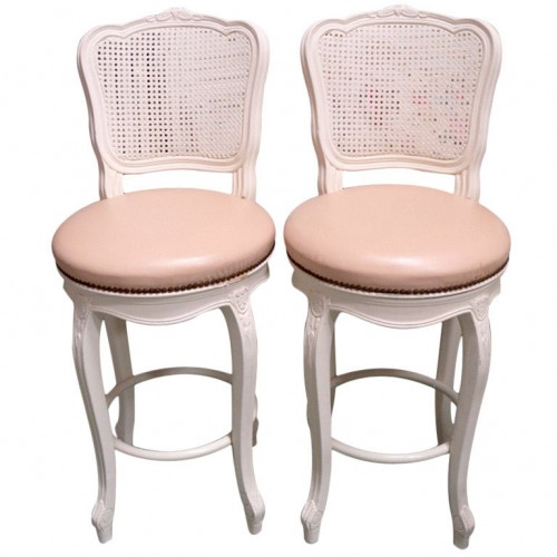 French Country Cane Back Bar Stools From Penny Long 500x500 5 Ways To Get The French Look For Less