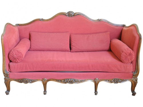 French Late 19th Century Louis XV Style Sofa in Beech Wood 500x375 5 Ways To Get The French Look For Less