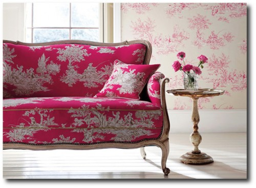 Harlequin Fabrics Toile 500x367 5 Ways To Get The French Look For Less