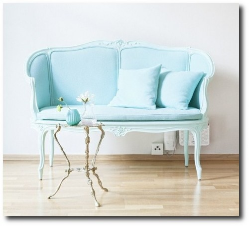 Bright French Furniture 500x453 How to Add Color Into Your Home With Confidence