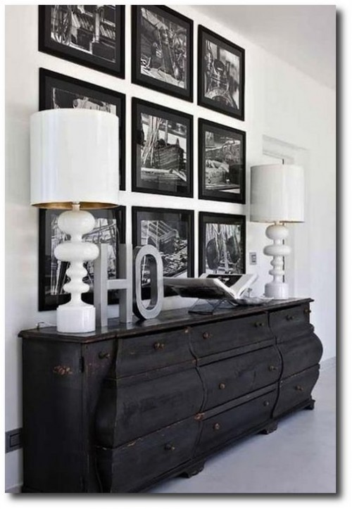 Distressed Black Paint Finishes4 500x723 How To Paint Black Furniture A Dozen Examples Of Exceptional Black Painted Furniture