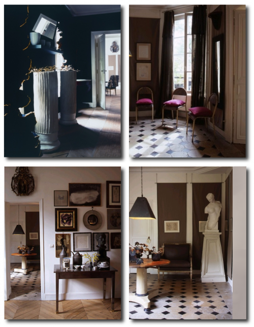 Dominique Kieffer Denise Bonenti via Italian Marie Claire Maison 500x644 Famous Composer Maurice Ravels French Styled Home