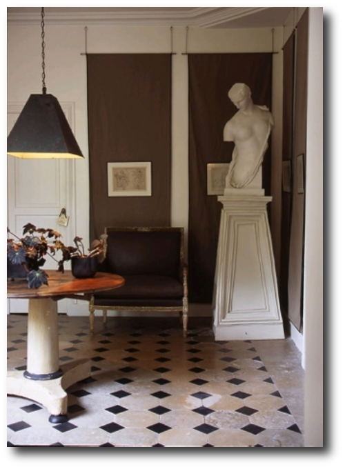 Dominique Kieffer Denise Bonenti via Italian Marie Claire Maison1 Famous Composer Maurice Ravels French Styled Home