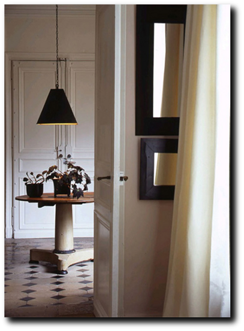 Dominique Kieffer Denise Bonenti via Italian Marie Claire Maison2 Famous Composer Maurice Ravels French Styled Home