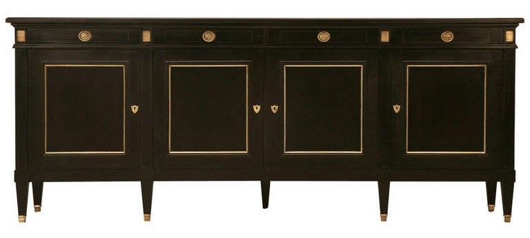 Compainting Wood Furniture Black : To Paint Black Furniture A Dozen Examples Of Exceptional Black Painted ...