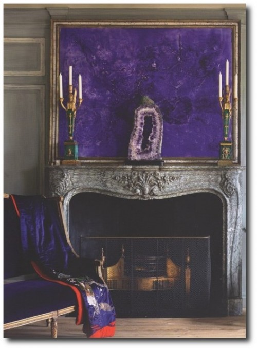 French Interiors Decorated Around Purples 500x679 How TO Decorate With Purple In French Styled Interiors