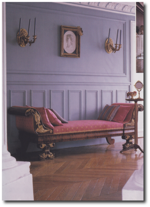 French Style Interiors French Style Furniture Michael Coorengel Jean Pierre Calvagrac2 500x692 How TO Decorate With Purple In French Styled Interiors
