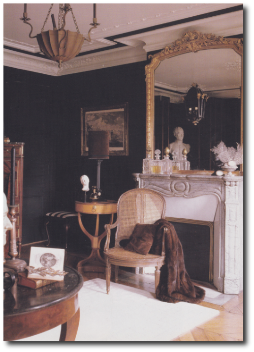 French Style Interiors French Style Furniture Michael Coorengel Jean Pierre Calvagrac4 500x692 How TO Decorate With Purple In French Styled Interiors