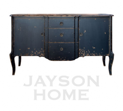 Napoleon Sideboard Jayson Home Garden1 500x4521 How To Paint Black Furniture A Dozen Examples Of Exceptional Black Painted Furniture