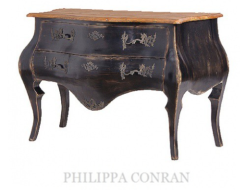 Philippa Conran1 How To Paint Black Furniture A Dozen Examples Of Exceptional Black Painted Furniture
