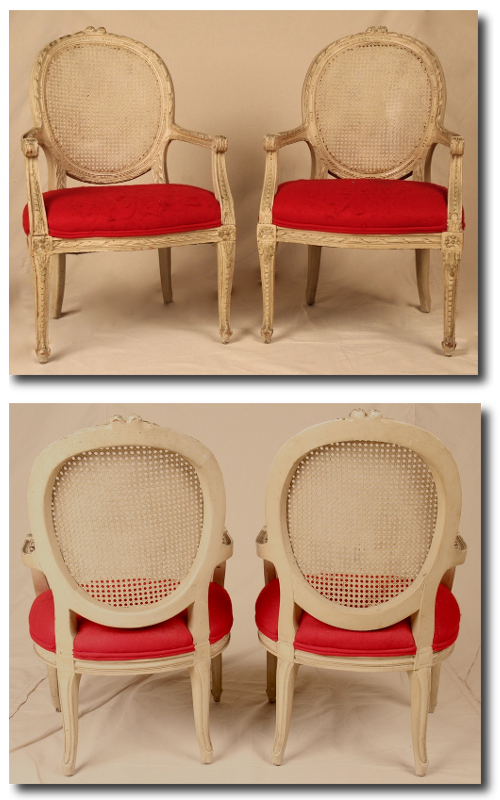French Louis XV Childrens Chairs French Louis XV Childrens Chairs