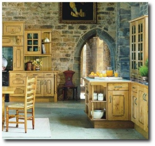 French Provincial Style1 500x472 Decorate With Bright Pops Of Color In Your Home