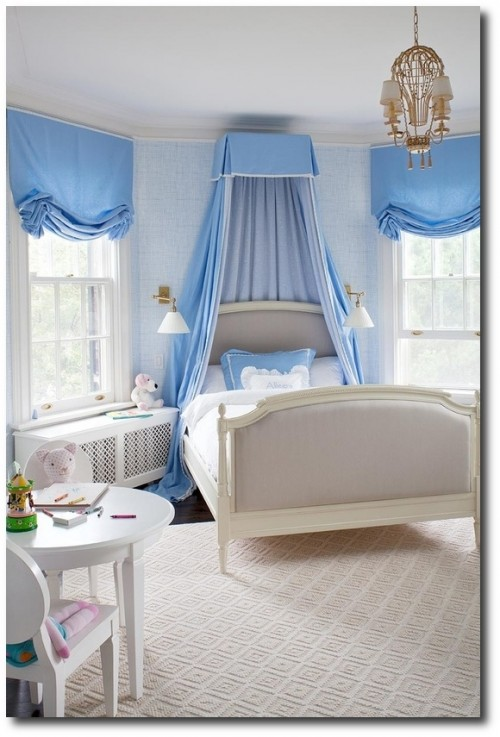 Interior Design by Anne Hepfer 500x737 French Style Childrens Furniture