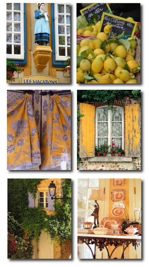 Provence France 500x892 Decorate With Bright Pops Of Color In Your Home