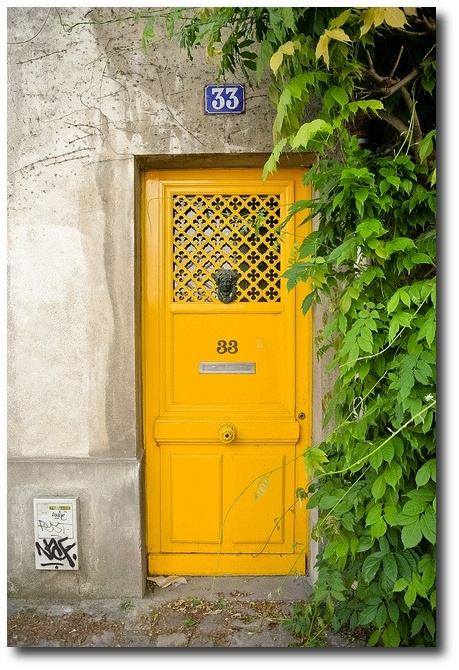 Rue des Thermopyles Paris Decorate With Bright Pops Of Color In Your Home