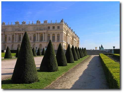 Versailles perspective 500x375 French Gardens