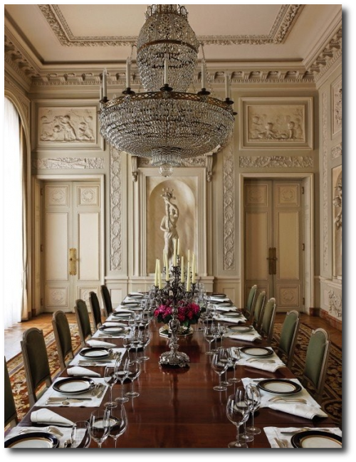 Hotel de la Tour dAuvergne Republic of Chile 500x649 Book Review: Historic Houses of Paris: Residences of the Ambassadors