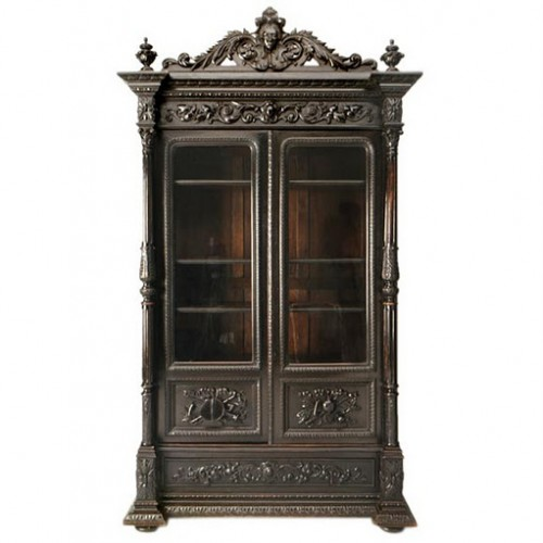 1860 Ebonized Napoleon III Style Bibliotheque antiques on old plank road 500x500 A Little Bit Of Provence In Your Home