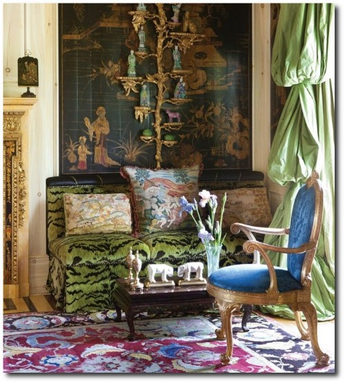 Ann Getty from the 2012 book by Diane Dorrans Saeks 500x556 Designer Hutton Wilkinsons 4 Tips For A Unforgettable Home